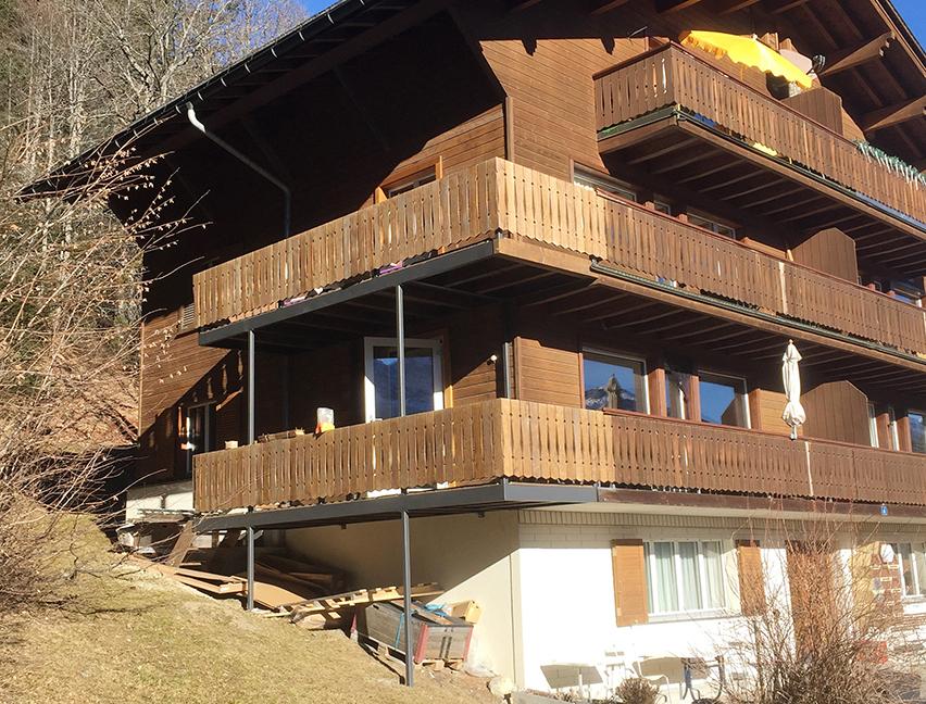 Balkon Erweiterung